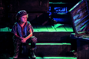 Logan Clark as Gavroche - Photograph Michael Le Poer Trench