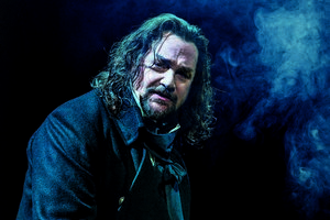 Michael Ball as Javert - Photograph Michael Le Poer Trench