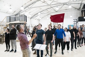 Rehearsals - Sondheim - Photo by Johan Persson